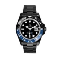Rolex GMT-Master II pre-owned 40mm Black Date GMT Steel
