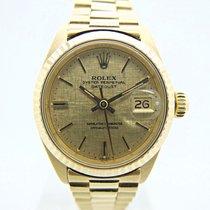 Rolex Lady-Datejust Geelgoud 26mm Goud Geen cijfers