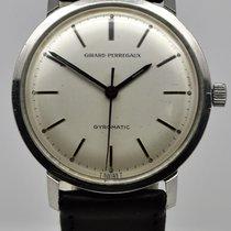 芝柏 Girard Perregaux Gyromatic 鋼 1960 33mm 二手