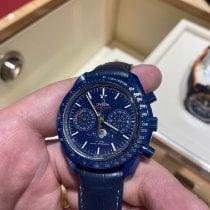 Omega Speedmaster Professional Moonwatch Moonphase новые 2021 Автоподзавод Хронограф Часы с оригинальными документами и коробкой 304.93.44.52.03.001