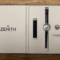 Zenith El Primero Chronomaster Сталь 38mm Белый