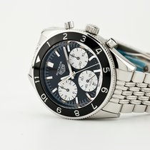TAG Heuer Autavia Steel 42mm Black No numerals United States of America, New Jersey, Oradell