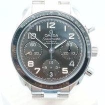 Omega Speedmaster Ladies Chronograph Stahl 38mm Grau Arabisch Deutschland, Düsseldorf
