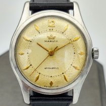Marvin pre-owned Manual winding 34.5mm Champagne 1 ATM