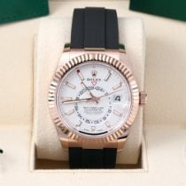 Rolex Sky-Dweller Rose gold 42mm White No numerals United States of America, California, Los Angeles
