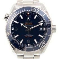 Omega Seamaster Planet Ocean Çelik 43.5mm Mavi Arap rakamları