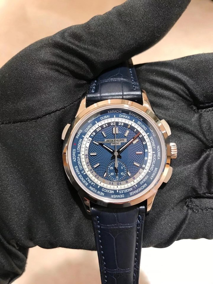 Patek Philippe World Time Chronograph 5930G-001 novo