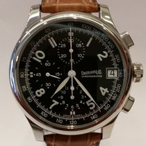 Eberhard & Co. new Automatic Small seconds Only Original Parts 43mm Steel Sapphire crystal