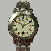 Corum Admiral's Cup (submodel) nuevo Cuarzo Reloj con estuche y documentos originales 39.230.20.V585