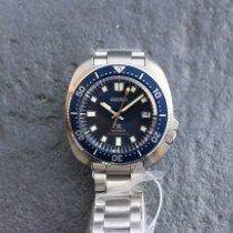 Seiko Prospex Stahl 42.7mm Blau Keine Ziffern