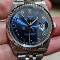 Rolex Datejust Steel Blue Roman numerals Indonesia, Medan