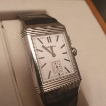 Jaeger-LeCoultre Grande Reverso Ultra Thin Duoface Stahl Silber