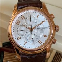 Frederique Constant Runabout Chronograph FC392RM6B4 Good Rose gold 43mm Automatic Indonesia, Medan