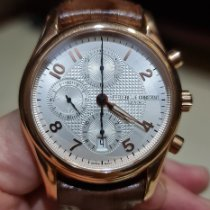 Frederique Constant Runabout Chronograph Or rose Argent Arabes