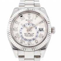 Rolex Sky-Dweller occasion 42mm Date Or blanc