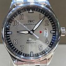 IWC Pilot Mark Steel 41mm Silver Arabic numerals