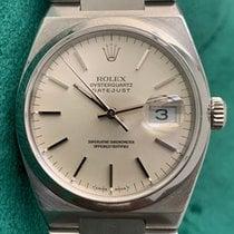 Rolex Datejust Oysterquartz Acier 36mm Argent Sans chiffres