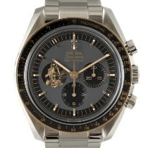 Omega Speedmaster Professional Moonwatch Goud/Staal 42mm Grijs