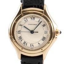 Cartier Cougar Желтое золото 26.5mm