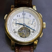 A. Lange & Söhne Tourbograph Gelbgold Silber