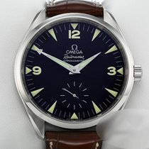 Omega Seamaster Railmaster Steel 49mm Black Arabic numerals