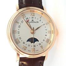 Blancpain Villeret neu 2019 Automatik Uhr mit Original-Box und Original-Papieren 6106-3642-55A
