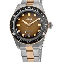 Oris Bronze Automatic No numerals new Divers Sixty Five