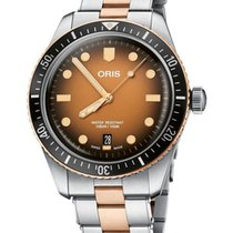 Oris Divers Sixty Five Bronze No numerals United States of America, New York, Brooklyn