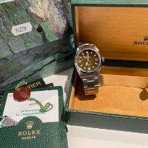 Rolex Explorer Acciaio 36mm Nero Arabi Italia, Milano