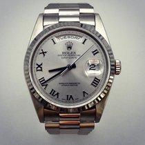 Rolex Day-Date 36 18239 Zeer goed Witgoud 36mm Automatisch Nederland, breda