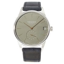 NOMOS Orion Neomatik pre-owned Leather