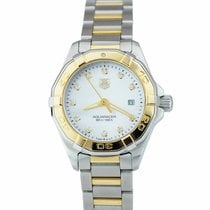 TAG Heuer Aquaracer Lady Gold/Steel 27mm Mother of pearl United States of America, New York, Massapequa Park