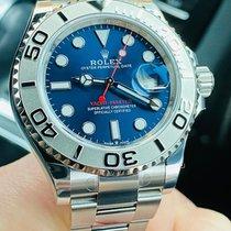 Rolex Yacht-Master 40 Steel 40mm Blue No numerals United Kingdom, Whitby- North Yorkshire