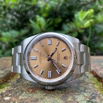 Rolex Oyster Perpetual 36 Steel 36mm Gold Arabic numerals United Kingdom, London