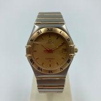 Omega 1212.10.00 Goud/Staal 1996 Constellation 35mm tweedehands