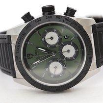 Tudor Fastrider Chrono Steel 42mm Green No numerals
