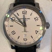Montblanc Timewalker Steel 42mm White Arabic numerals United States of America, Texas, Houston