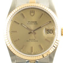 Tudor Prince Date 74033 Very good Gold/Steel 34mm Automatic