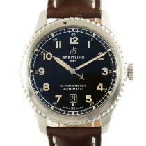 Breitling Aviator 8 Stål 41mm Sort