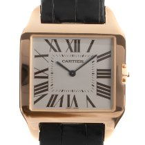 Cartier Red gold Manual winding 32mm pre-owned Santos Dumont