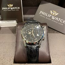 Philip Watch Sunray Steel 39mm Black Arabic numerals