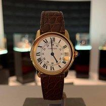 Cartier Ronde Solo de Cartier Pозовое золото Cеребро Римские