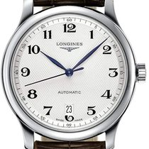 Longines Steel Automatic Silver 38.5mm new Master Collection