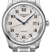 Longines Steel Automatic Silver 40mm new Master Collection