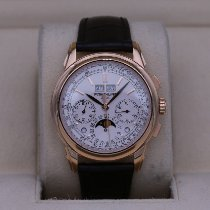 Patek Philippe Perpetual Calendar Chronograph Rose gold 41mm Silver No numerals United States of America, Tennesse, Nashville
