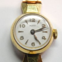 Mathey-Tissot Rose gold 16mm Manual winding pre-owned United States of America, Colorado, FLORENCE
