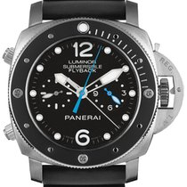 Panerai Luminor Submersible 1950 3 Days Automatic Titanium 47mm Black Arabic numerals United States of America, Georgia, Alpharetta