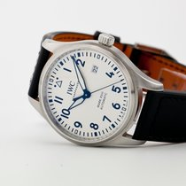 IWC Pilot Mark Steel 40mm White Arabic numerals United States of America, New Jersey, Oradell