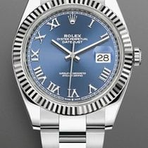 Rolex Datejust II White gold 41mm Blue No numerals United States of America, New York, Brooklyn