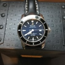 Breitling Superocean Heritage 42 Steel 42mm Black United States of America, New Hampshire, Gilmanton